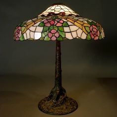 Dale Tiffany 19 In Hummingbird Antique Bronze Finish Table Lamp