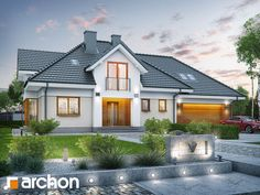 Design ideas drawing best dream house images on modern homes Modern House Plans, Small House Plans, Dream House Images, Bungalow Conversion, Small Bungalow, Bungalow Ideas, Living Room Tv Unit Designs, House Design Photos, Home Design Plans