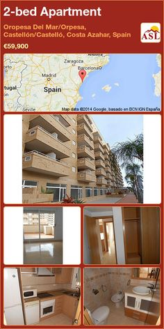 2-bed Apartment in Oropesa Del Mar/Orpesa, Castellón/Castelló, Costa Azahar, Spain ►€59,900 #PropertyForSaleInSpain