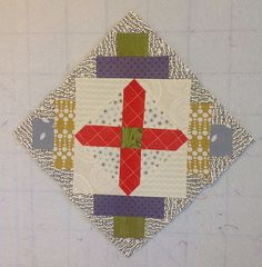 Nurse's Cross   Flickr - Photo Sharing! Gypsy Wife Quilt in process