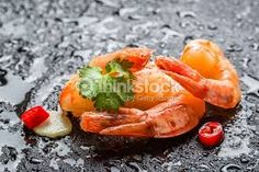 food served on rock - Google Search