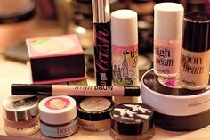 More Benefit makeup.. if you have never used their stuff you need to try it! Especially bad gal lash
