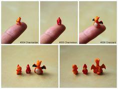 sculpt tiny pokemon clay figures - Google Search