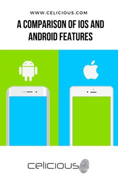 A Comparison of iOS and Android Features Android Features, Ios, Popular, Phone, Telephone, Popular Pins, Mobile Phones, Most Popular