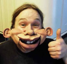 Professional human Ventriloquist Comedian Magician Puppet talking mouth Mask | eBay