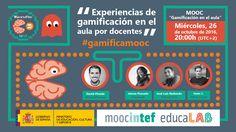 Evento Experiencias de gamificación en el aula