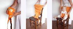 Cadeira De Alimentação Para Bebes Dobrável, Suspensa, Portátil e Tradicional.Entre no site para comprar!