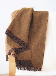 Weiche Decke Aus Schurwolle Gefertigt In Traditioneller Irischer