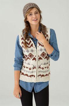 denim is best when worn with a vest:)