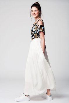 Dames Jurk Lange Mouwen Outfit Inspiratie Ibizi Fashion