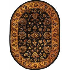 Safavieh Handmade Golden Jaipur / Gold Wool Rug