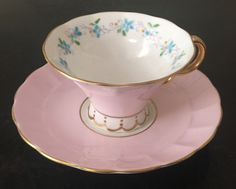 Vintage Adderley teacup and saucer/midcentury teacup/made on England/fine bone…