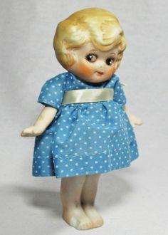 bisque kewpie flapper doll