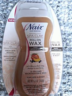 Nair - Brazilian Spa - Clay Roll-On Wax - Oz legs & body mango berry fruits - Skin Care, Nails , Body Makeup, Summer Skin Care Beauty Care, Beauty Skin, Beauty Hacks, Shaving Tips, Healthy Skin Tips, Clear Skin Tips, Face Skin Care, Tips Belleza, Health And Beauty Tips