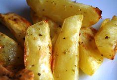 Ofenkartoffeln mit Zitrone und Oregano