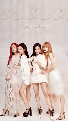 Blackpink is the revolution Blackpink Jisoo, Kpop Girl Groups, Korean Girl Groups, Kpop Girls, Forever Young, Lisa Blackpink Wallpaper, Black Pink Kpop, Blackpink Photos, Blackpink Fashion