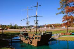 Pirate's Cove Mini Golf, Brainerd, MN - this weekend when we are in Brainerd at the cabin