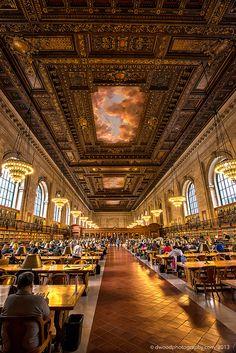New York Public Library. Reading Room | Flickr - Photo Sharing!