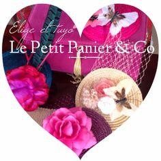 Le Petit Panier & Co: Tocados Le Petit Panier & Co. Http://lepetitpanierandco.blogspot.com