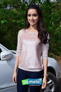 Shraddha Kapoor at the Promotion of Hindi movie 'Ek Villain' on the sets of 'CID' at Film City in Mumbai