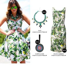 Thassia Naves. Floral print dress