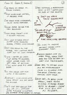 Robert's Class Notes-DO NOT POST HERE! - Page 2 - WetCanvas