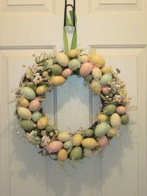the clever chic: Easter Wreath