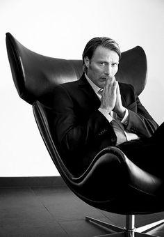 The Call: Mads Mikkelsen stars in BoConcept's first film feature Nbc Hannibal, Hannibal Lecter, Hannibal Series, Bucky, Business Portrait, Hugh Dancy, Boconcept, Mads Mikkelsen, Foto Pose