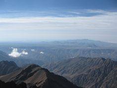 View from the Top of Toubkal