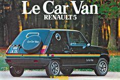 Renault 5 Le Car Van (1979)