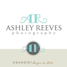 Premade Logo and Watermark With Extra Circular Accent Element. $35.00, via Etsy.