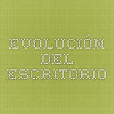 EVOLUCIÓN DEL ESCRITORIO