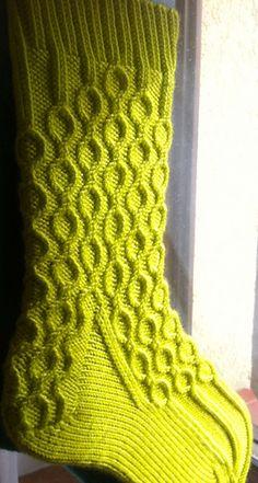 Kili Socks by Claire Ellen