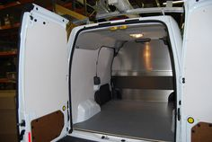 Ford Transit Connect Van Shelving, Equipment and Accessories. http://advantageoutfitters.com