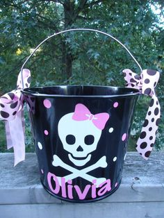Cute Halloween Bucket!