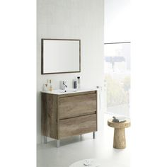 £249 Found it at Wayfair.co.uk - Dakota 80cm Bathroom Vanity with Basin and Mirror