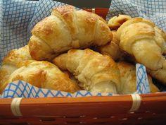 Flaky Croissants.