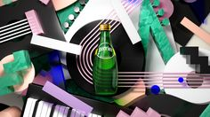 Perrier 2016 / Playful Content on Behance