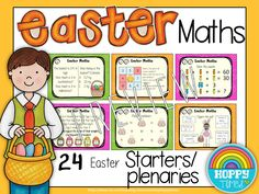Easter Maths by Hoppy Times