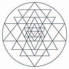 O Sri Yantra simboliza a vida, simultaneamente o universal e individual, como… Mais