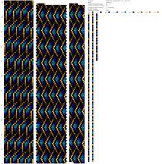 Crochet Beaded Necklace, Beaded Necklace Patterns, Crochet Bracelet, Jewelry Patterns, Bead Crochet Patterns, Seed Bead Patterns, Bead Crochet Rope, Beading Patterns, Loom Bracelet Patterns