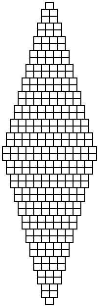 2 bead brick stitch diamond graph paper, Shala Kerrigan, bellaonline.com This could go anywhere. Wonderful site for lots of graphs, all types of bead weaving stitches.