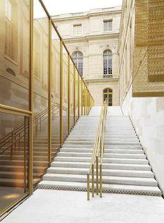 Umbau des Dufour Pavillons in Versailles von Dominique Perrault