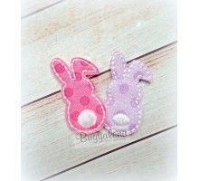 Bunny Backside Feltie Design