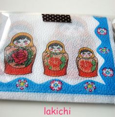 ❤I need these napkins!❤ | kitchen lakichi in 京都 Russian Nesting Dolls- Matriochka-Babushka www.matrioskas.es