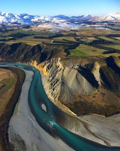 "Waimakariri River, Canterbury, New Zealand from GCH Aviation (@gchaviation) on Instagram: ""#Canterbury #gchaviation #waimakariri #southernalps #christchurch #rivers #mountains #newzealand"""