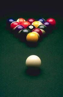 billiards. <3