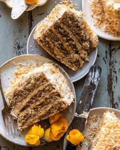 Super Simple Coconut Chicken Tikka Masala. - Half Baked Harvest Coconut Pecan, Toasted Coconut, Lemon Butter, Garlic Butter, Brown Sugar Frosting, Pecan Cake, Half Baked Harvest, Thing 1, Food Processor Recipes