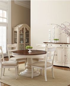 Round Pedestal DIning Table - Coventry Dining Room Furniture Collection - furniture - Macy's