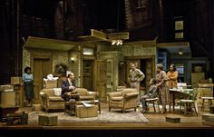 A Raisin in the Sun. Scenic design by Michael Ganio.